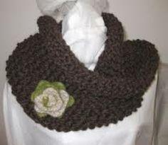 snood knitting pattern free - Google Search