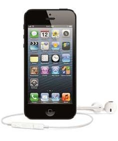 Sim Free Apple iPhone 5 16GB Refurbished - Black.