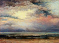 hirundinem:  Gustave Courbet | L'immensité, 1869.