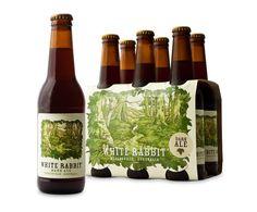 White Rabbit Brewing. #beer #packaging #beverage