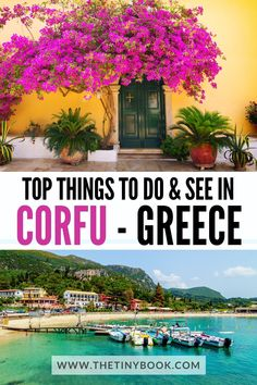 Check out all you need to know to plan the most fantastic holidays in Corfu, Greece: Best beaches, villages, tours, souvenirs, and more!