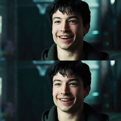 Ezra Miller as Barry Allen/The Flash