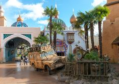 Adventureland, Disneyland Paris | looks like indiana jones meets agrabah!
