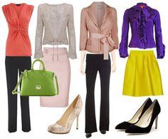 Professional Outfits for Hourglass Body Type by Creative Fashion, via Flickr