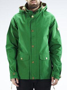 Makia Raglan Jacket GREEN - € 269.00