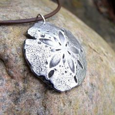 Sand Dollar Necklace Beach Ocean Rustic Jewelry Summer by KDemARTe, $24.00
