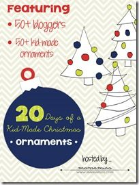 Celebrating Christmas with Kid Made Ornaments - Mama Smiles - Joyful Parenting