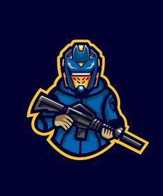 Moletom com capuz robo gunner e sport logo Vetor Premium Logo Character, Character Design, Corporate Branding, Logo Branding, Monogram Logo, Logo D'art, Ghost Logo, Ninja Logo, Skin Logo