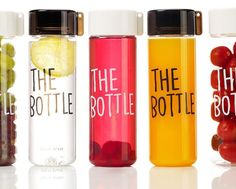 BPA Free Tritan Clear Water Bottle with typo