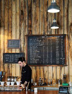 The former Stumptown coffee Bar in red Hook, Brooklyn