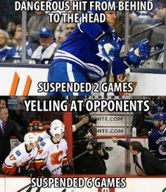 2 games or 6 games, you pick - Except that Torts was suspended for the hallway incident, not the yelling! - T