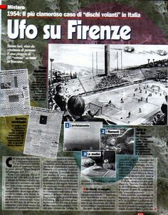 MULTIPLE WITNESS CASE: 10,000 People See UFOs at Italian Stadium in 1954.