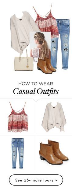 """""""Casual & Comfy"""" by brittany373749 on Polyvore featuring rag & bone, Warehouse and MICHAEL Michael Kors"""