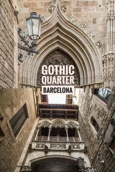 Exploring one of Barcelona's oldest neighbourhoods - Gothic Quarter More