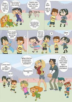 Total drama kids comic pag 7 by Kikaigaku.deviantart.com on @DeviantArt