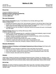 Example Of Petroleum Engineering Resume    Http://exampleresumecv.org/example