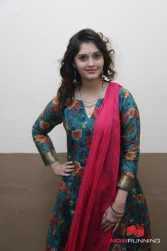 Surabhi at Adangathey Movie Launch