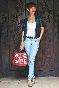 Denim casual look for everyday