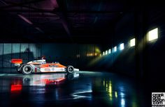 Hunt+The+Shunt+-+James+Hunt's+Mclaren+m26+1977+formula+one+car For+Crankandpiston.com
