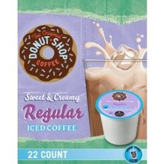 You Brew My Tea: Sweet & Creamy Regular Iced Coffee 22ct K-Cup Only $11.99!