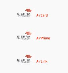 sierra: Sub-brand logos