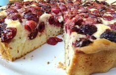 Ha gyorsan akarsz valami nagyon finomat: germersdorfi cseresznyés pite! | Mai Móni Other Recipes, Fun Desserts, French Toast, Cheesecake, Muffin, Food And Drink, Cupcakes, Sweets, Snacks