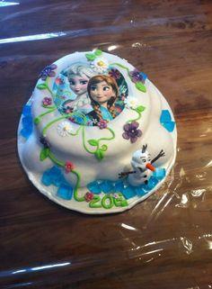 Frozen taart frozen cake