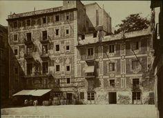 PLAÇA DEL PI, 1860. Barcelona