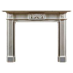 Antique Neoclassical Georgian Fireplace Mantle | From Jamb via https://www.1stdibs.com/furniture/building-garden/fireplaces-mantels/