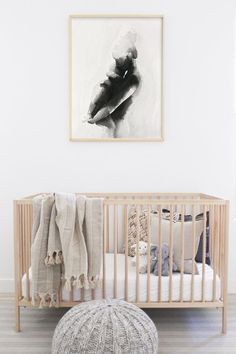 Nursery design ideas If you are decorating a nursery, you might soon realize choosing nursery art isn't as easy as you'd think. After decorating four nurseries, here are my tips for choosing nursery art. Baby Bedroom, Baby Room Decor, Nursery Room, Girl Nursery, Girl Room, Kids Bedroom, Nursery Decor, Nursery Ideas, Baby Room Art