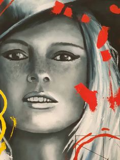 Still image between two heartbeats | Ponzellini Devis Brigitte Bardot, Still Image, In A Heartbeat, Be Still, Famous People, Pop Art, Halloween Face Makeup, Icons, Portrait