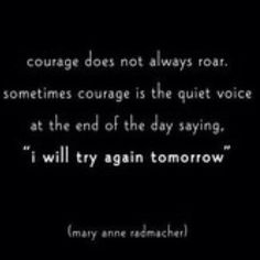... Courage