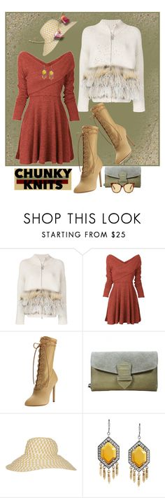 """Chunky Knits 😀"" by ragnh-mjos ❤ liked on Polyvore featuring FABIANA FILIPPI, Yeezy by Kanye West, Missoni, Gucci, outfit and chunkyknits"
