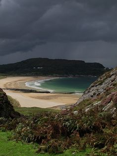 The beach at Kiloran Bay, Island of Colonsay, Scotland