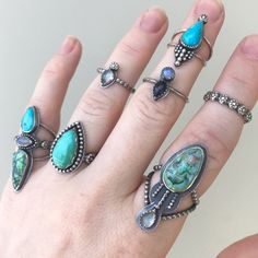 THESE RINGS THOUGH! 😍😍😍😍