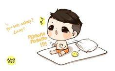 Xia Fan art... so cute!!