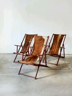 Cowhide loungers I have never seen anything like this