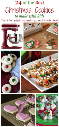 24 of The Best Christmas Cookies to Make with Kids PLUS All of the Kitchen Gadgets and Goodies You Need to Make Them   cupcakesandkalechips.com   #eBayguides #CleverGuides #ad