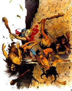 Battle - Frank Frazetta