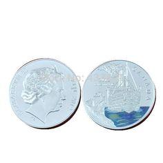2012 КАНАДА КОРОЛЕВА ЕЛИЗАВЕТА ФИДЖИ Титаник 100-летие Серебряная Монета Набор, 5 шт./лот