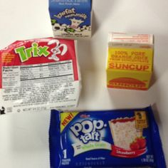 May 16th School Breakfast, Childhood Obesity, I School, Pop Tarts, Snack Recipes, Food, Snack Mix Recipes, Appetizer Recipes, Essen