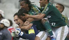 Corinthians 2x2 Palmeiras - Prass defende pênalti