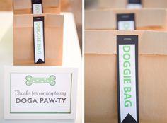 Bash by Brenly Dog Birthday Party! Yoga theme!