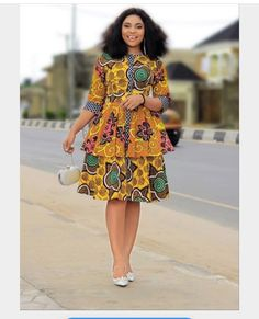 100 Latest Ankara Style Designs For 2020 (Updated) Ankara Dress Styles, African Print Dresses, African Print Fashion, African Fashion Dresses, African Dress, African Attire, African Wear, African Women, African Style