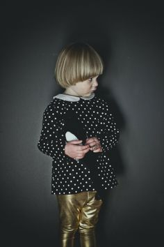 Dark and moody campaign for Beau Loves kids fashion winter 2013