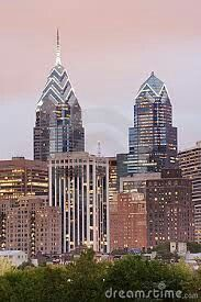 One and Two Liberty Place. Philadelphia.