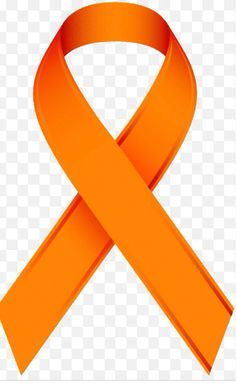 Orange - Leukemia Cancer Ribbons, Leukemia Awareness, Breast Cancer Awareness, Leukemia Tattoo, Cancer Survivor Quotes, Stupid Cancer, Kidney Cancer, Cancer Facts, Orange