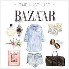 LUST LIST X HARPER'S BAZAAR MEXICO || Mini Break Essentials  @harpersbazaarmx #harpersbazaarmx #thelustlist