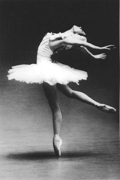 Kirov Ballet's prima ballerina Natalia Makarova, circa 1981. Photo by Dina Makarova.