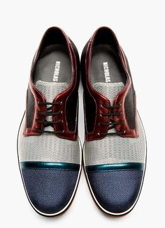 Trimmed Woven Derbys. | Raddest Men''s Fashion Looks On The Internet…